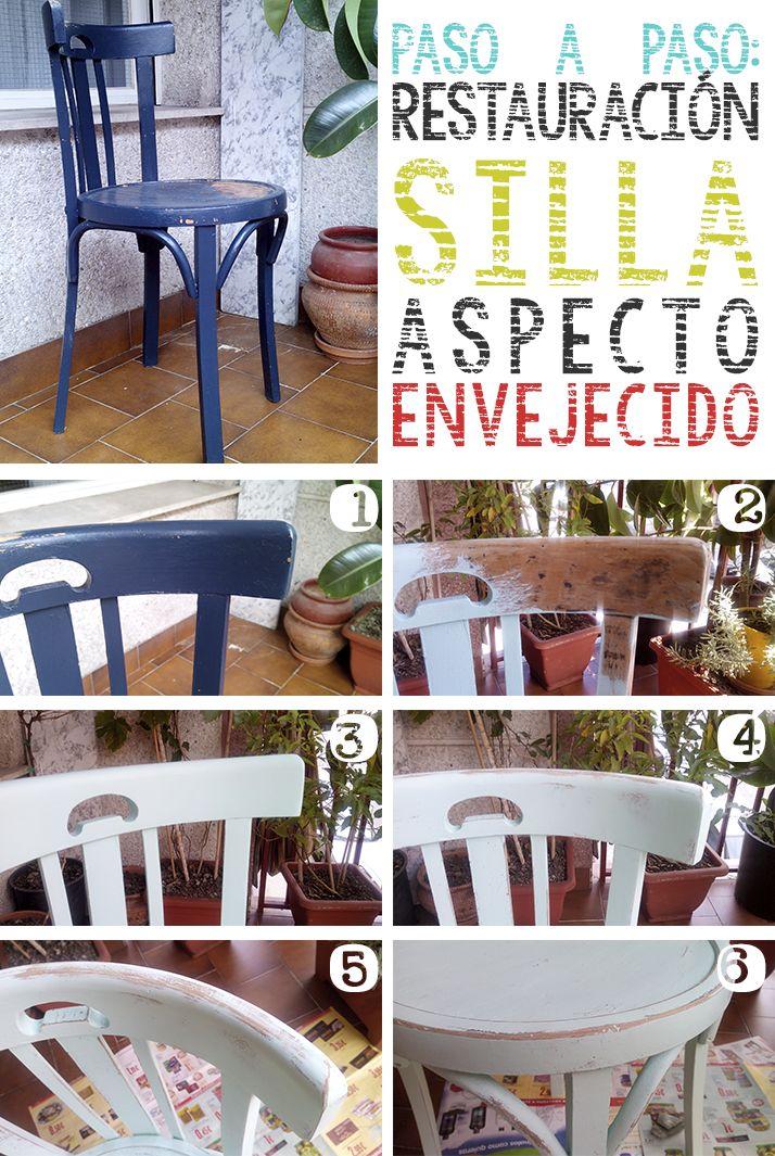 Las 25 mejores ideas sobre muebles antiguos pintados en - Restaurar muebles viejos ...