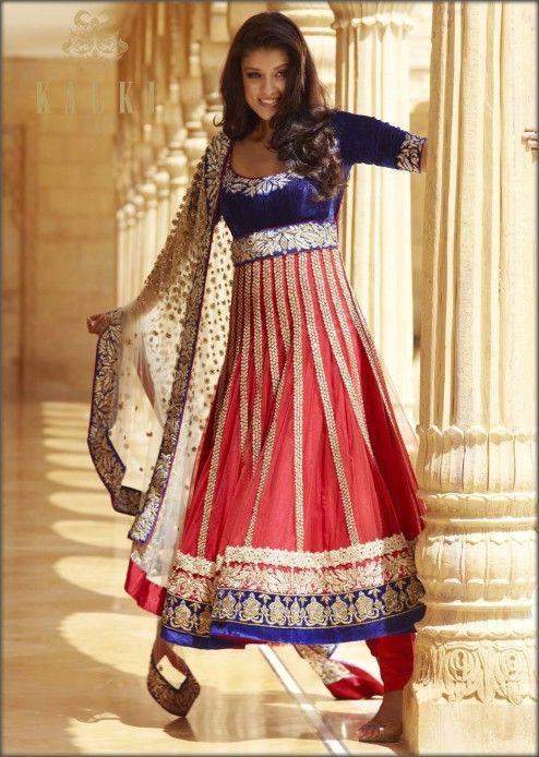 Beautiful #Anarkali Suit by @kalkifashion http://www.KalkiFashion.com/ Mumbai, Bellevue, WA Shipping ww