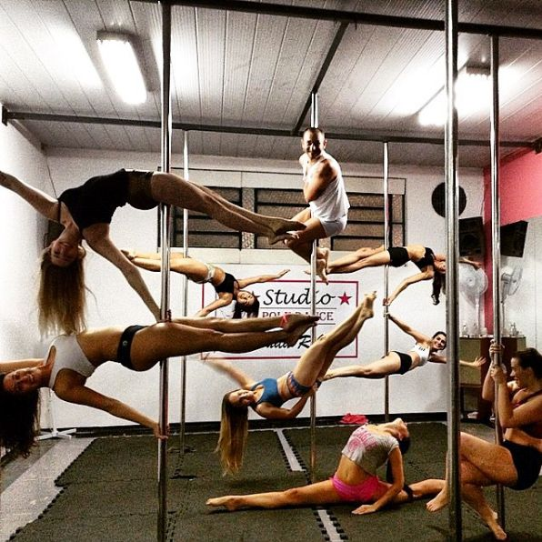 Going to a pole class isn't like going to a strip club. Most of the time, it's more like Cirque du Soleil. | 13 Things You Probably Never Knew About Pole Dancing Classes