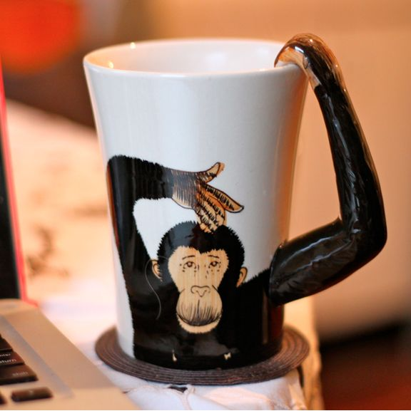 We don't monkey around about good coffee!