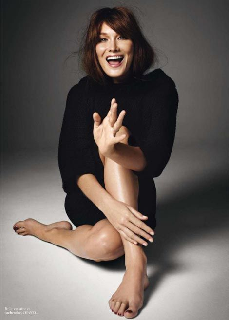 French Chic 101 with our muses // Carla Bruni, Model/Singer/French First Lady