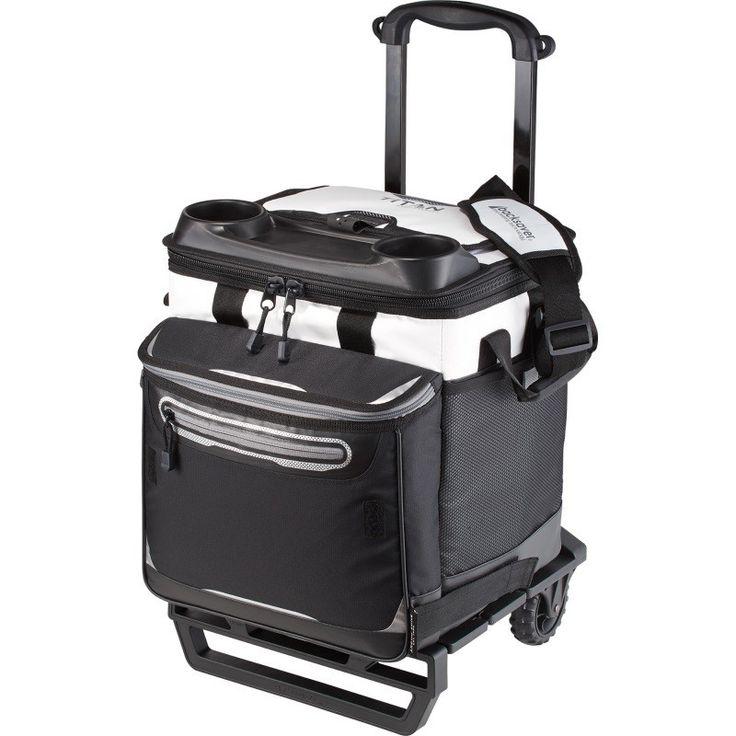 Deepfreeze Insulated Rolling Cooler Bag