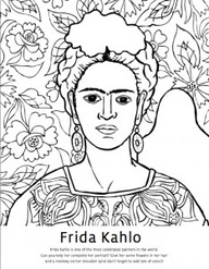 masterpieces coloring pages - photo#45