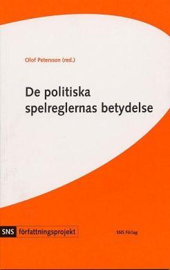 ladda ner DE POLITISKA SPELREGLERNAS BETYDELSE : FYRA STUDIER I FÖRFATTNINGSPOLITIK pdf mobi epub gratis