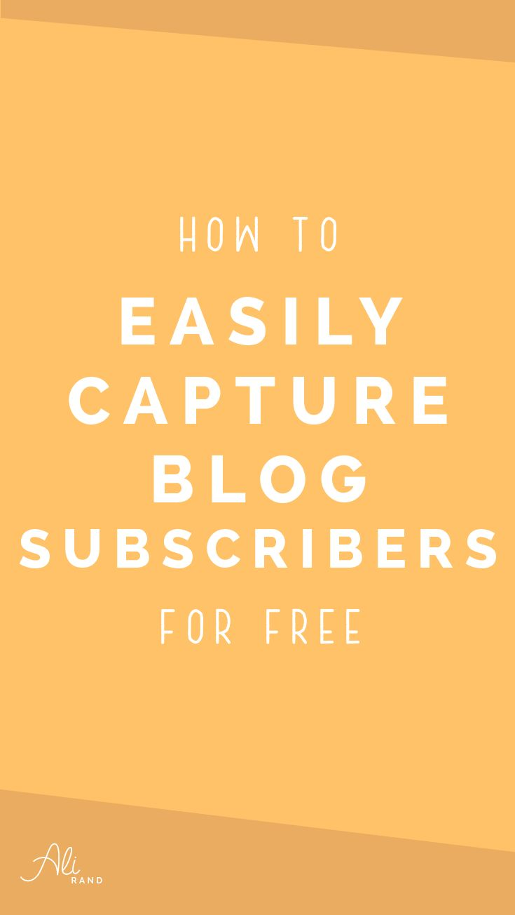 Want to grow your email list but aren't sure HOW to do it on your website? You see everyone's popups and forms for their freebies, but have no clue how to do it yourself or you think you have to pay $300/year for Leadpages? In my latest post, I walk you through how to capture email subscribers on your blog or website using FREE WordPress tools and your email marketing provider. Start growing your list here: https://alirand.com/free-leadpages-alternative/