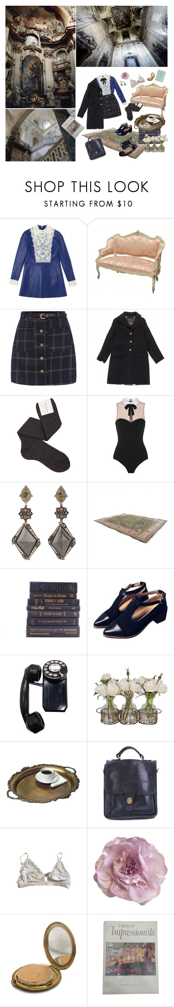 """""""Diana"""" by psicopata ❤ liked on Polyvore featuring Louis Vuitton, Maria La Rosa, Fleur du Mal, Sevan Biçakçi, American Eagle Outfitters, American Apparel, STELLA McCARTNEY, Cynthia Rowley and Coty"""