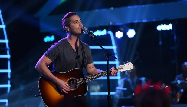 "Nick Fradiani sings ""In Your Eyes"" by Peter Gabriel on American Idol Season 14 (2015) Top 12 performance night on Wednesday, March 11."
