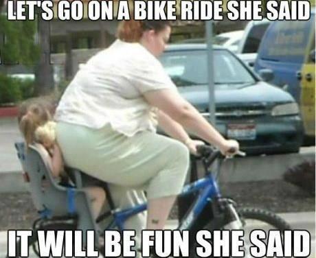 good reason to ride the bike!