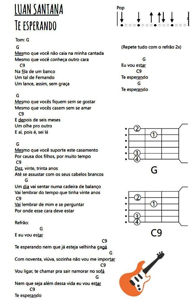 Cifra De Musica Sertaneja Em 2020 Com Imagens Cifras De