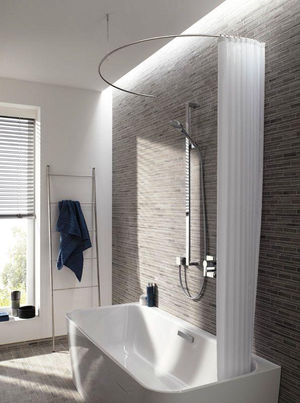 die besten 20 duschvorh nge ideen auf pinterest. Black Bedroom Furniture Sets. Home Design Ideas