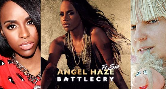 """Angel Haze and Sia are two successful musicians who refuse to define their world in terms of gender. They have collaborated to record """"Battle Cry,"""" and both have produced lots of groundbreaking music besides."""
