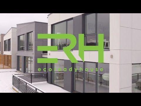 Nasze realizacje - osiedle Sannakajen w Kristinehamn (Szwecja) - EcoReadyHousePL - YouTube