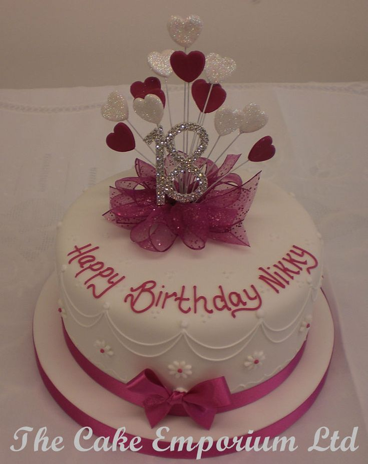 18th birthday cake for girl - Google Search