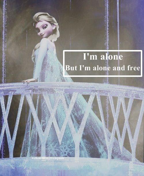 Frozen- Queen Elsa. I'm alone...still working on the free part.