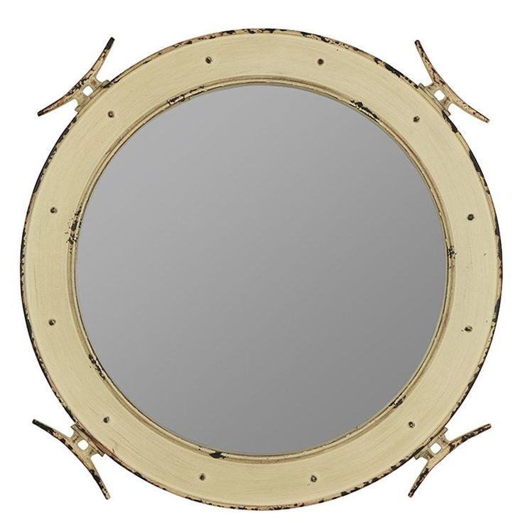 Cooper Classics Nautical Wall Mirror - 27W x 27H in. - 41008, COOP1279-1