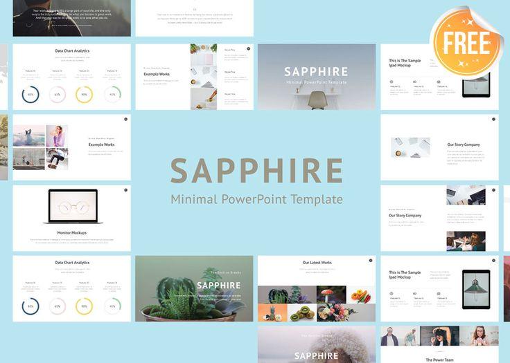 Download Saphhire Minimal PowerPoint