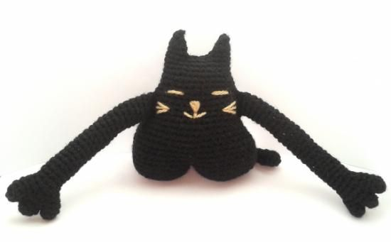Amigurumi Gato negro