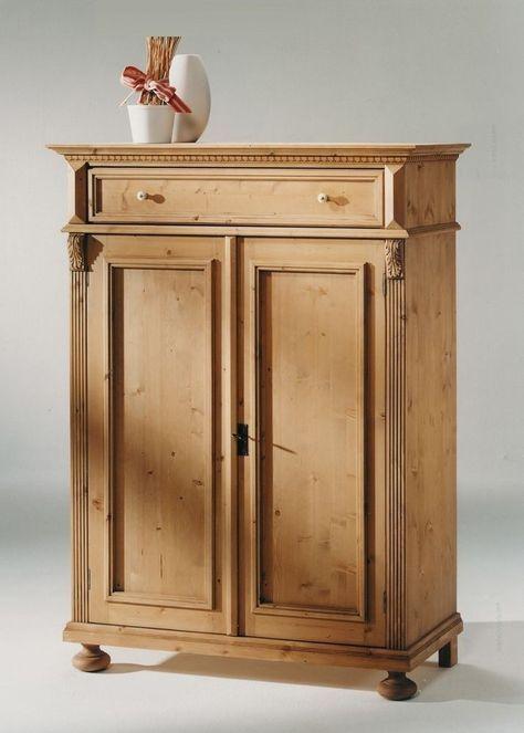 Vintage Vertiko Landhausstil Alina Holz Massiv Fichte Antik Gewachst Vertiko Alina vom deutschen Hersteller Gradel Massivholzm bel