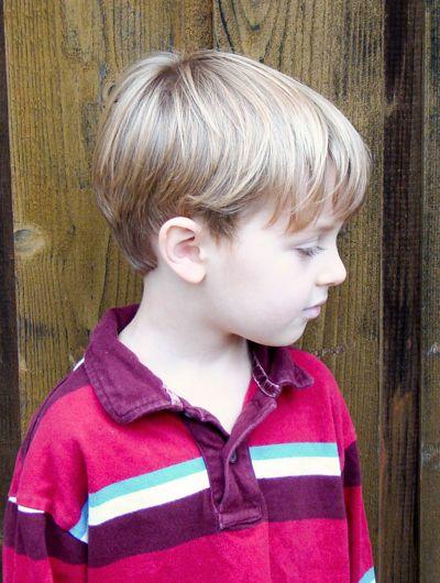 Fine Haircut Boy Haircuts Pinterest Little Boy