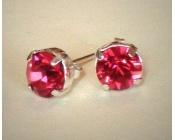 Rose stud earrings www.taralenasjewels.com $25.00