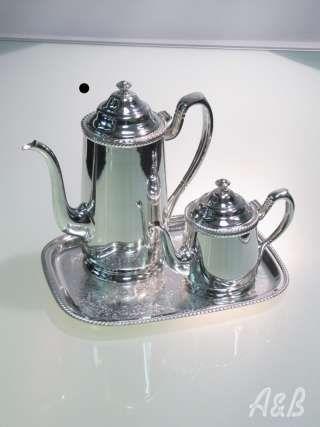 Silver Coffee and Tea Pot set