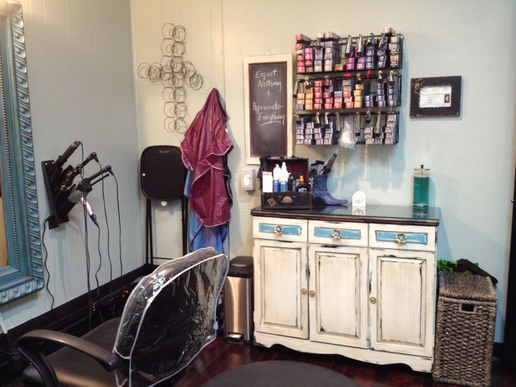 Color Station At The Salon