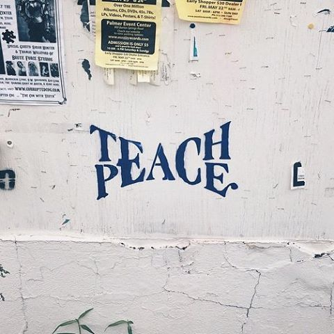 "happyveganyogi:  My heart is heavy for everyone affected by the attacks in Paris.  The world needs a lot of healing. Live with peace, let it be in all your words and actions, speak with peace, teach peace, spread peace. It's going to heal us.  ""If every 8 year old in the world is taught meditation, we will eliminate violence from the world within one generation.""  #paris"