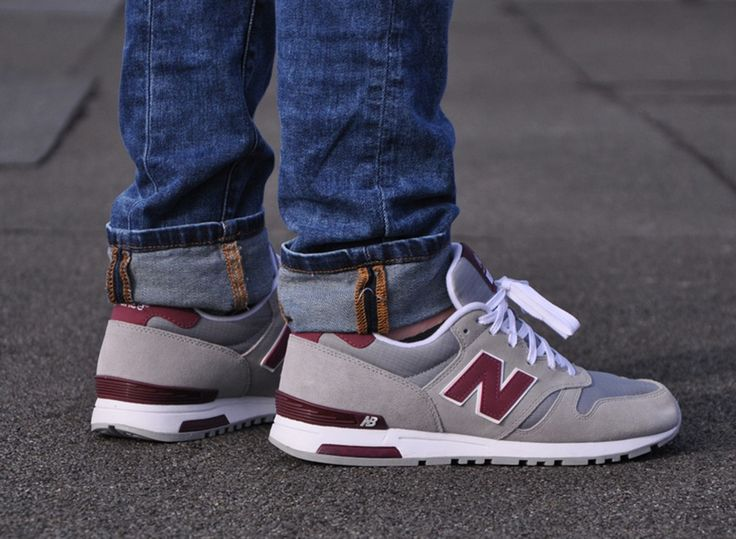 New Balance 565 - Grey - Burgundy - SneakerNews.com. Burgundy Pants  MenMaroon ...