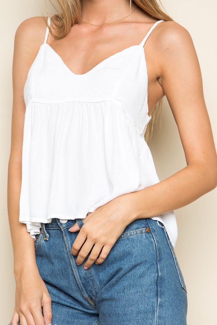 Brandy ♥ Melville | Cameron Tank - Tanks & Halters - Tops - Clothing