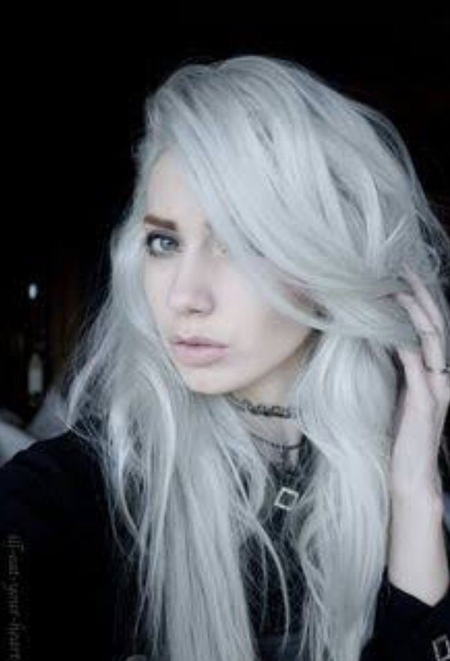 white blonde hair styles 17 best ideas about dyed white hair on white 7087 | 5b858105d98b36b2f87172544cc7c4ab