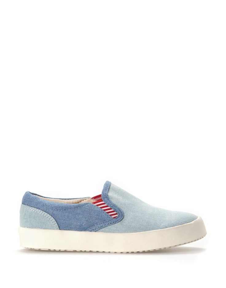 Denim Slip On, will look nice on my boy