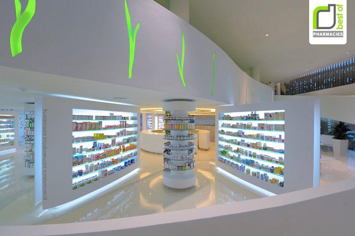 PHARMACIES! Placebo pharmacy by KLab Architecture, Athens » Retail Design Blog