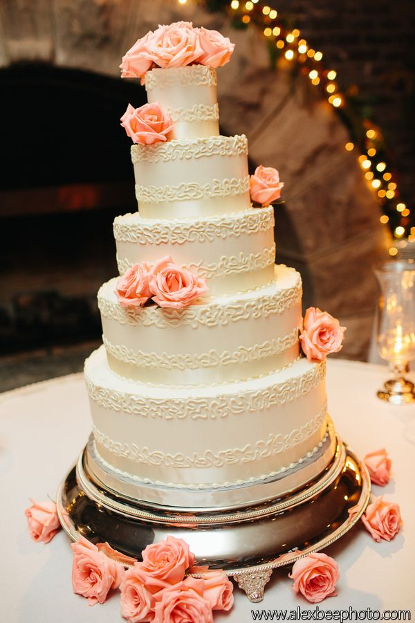 peach white and silver wedding cake 17 best images about and silver on mint 18154