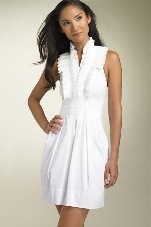 Платье из плиссе