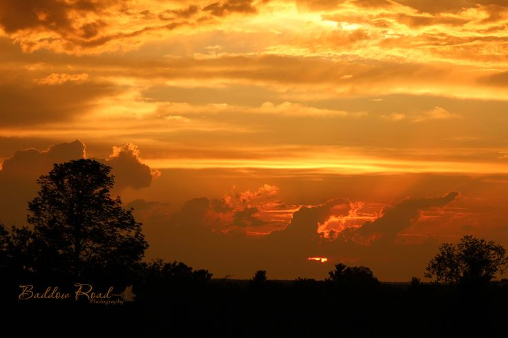 A Lovely Sunset in the Kawarthas   #FenelonFalls #KawarthaLakes #BaddowRoadPhotography