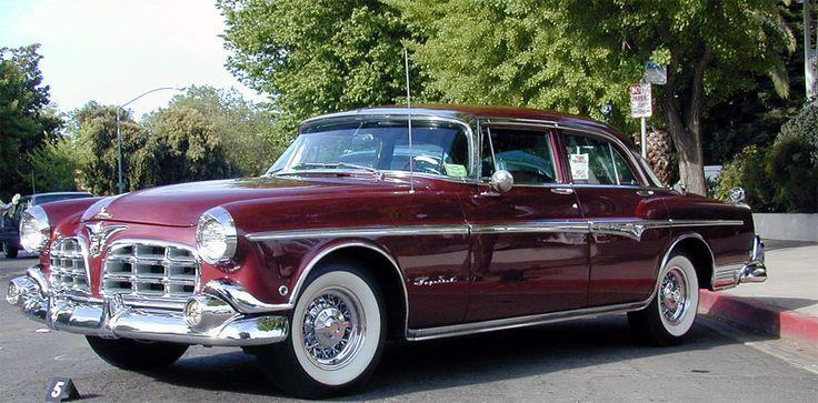 1955 chrysler imperial  4 portas sedan