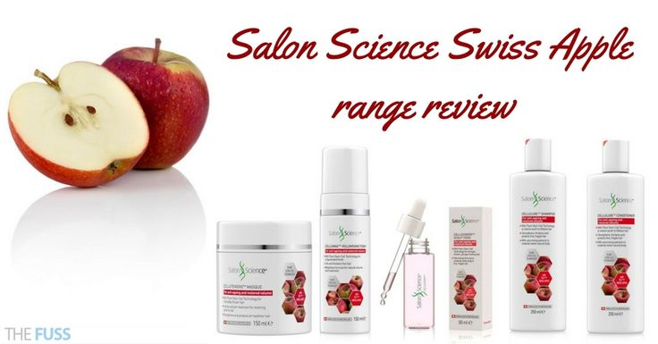 For hair that needs help with volume and ageing problems, the Salon Science Swiss Apple range are the products to invest in