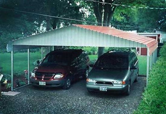 Best 25 free standing carport ideas on pinterest patio for Build your own garage plans free