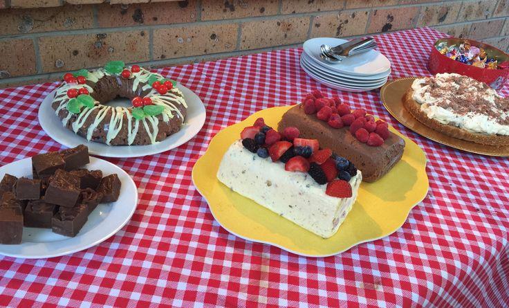 Christmas Desserts 2015