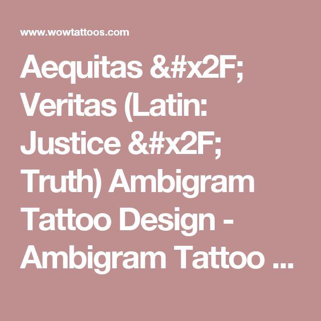 17 Best Ideas About Ambigram Tattoo On Pinterest