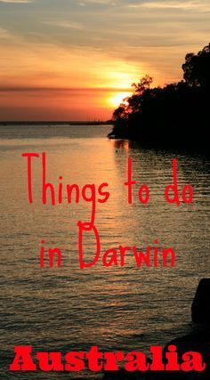 I loved Darwin, the capital of the Northern Territory in Australia. It is a city of peaceful suburbs shaded by tropical palms and gardens, with gorgeous sunsets and so much to see and do even before you set out for Kakadu and Litchfield National Parks. Here are my top things to do in Darwin: http://www.worldwanderingkiwi.com/2012/06/australia-things-to-do-in-darwin-top-end/