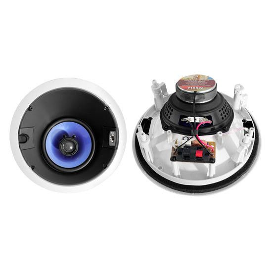 250 Watt 6.5'' High Performance Directional Two-Way In-ceiling Speaker System w/Adjustable Treble Control
