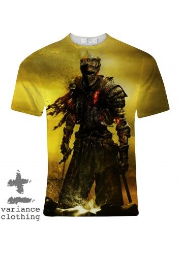 Dark Souls 3 Crew Neck T-Shirt | GG2EZ Clothing - Gaming ...