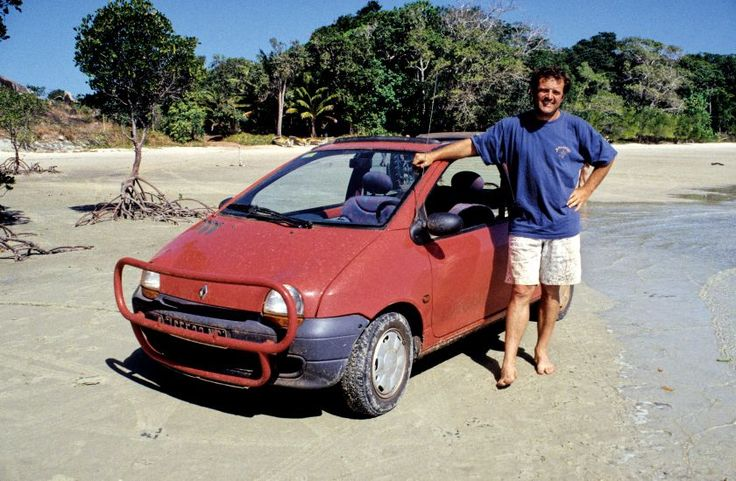 The TWINGO makes history in Australia