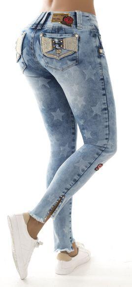 Jeans levanta cola REVEL 56089