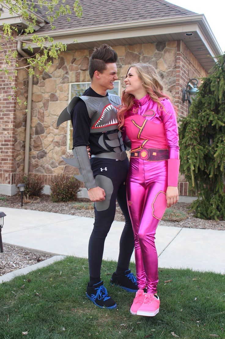 Shark Boy and Lava Girl superhero DIY costume!