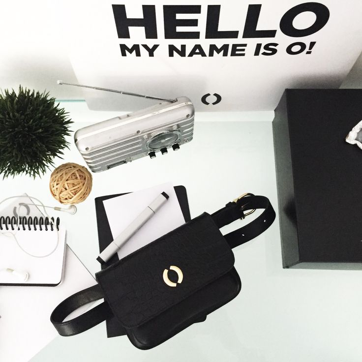 Hello! My name is O! Office day with (Bobo) belt bag