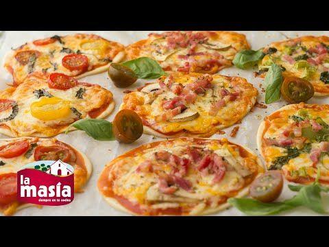 Recetas Entrantes | Receta Mini Pizzas con Obleas