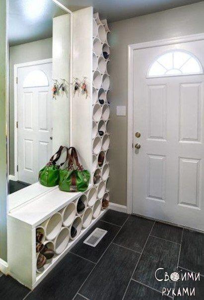 нестандартное хранение обуви