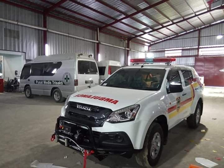 Jual Ambulance Isuzu Mu X Info 081284074126 Ambulans Mobil Medis